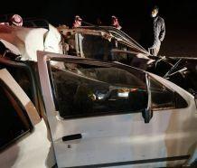 أحد رجال الدفاع المدني يتفاجأ بأن والده وشقيقتيه ضمن حـادث يباشره
