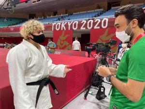 بالصور.. وزير الرياضة يلتقي لاعبة الجودو تهاني القحطاني قبل مواجهاتها الأولى في أولمبياد طوكيو