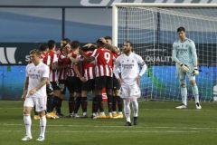 بالفيديو.. أتلتيك بيلباو يطيح بريال مدريد ويتأهل لمواجهة برشلونة بنهائي السوبر