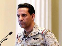 """""""التحالف"""": ميليشيا الحوثي أطلقت صباح اليوم صاروخا باليستيا من صنعاء وسقط داخل صعدة"""