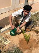 بالصور.. دورة تدريبية في نظافة البيئة وحمايتها بثانوية الملك فهد بالسيح