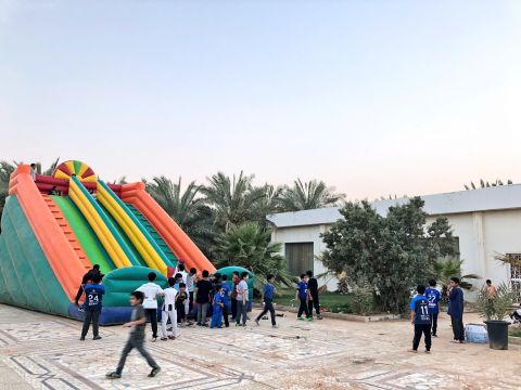 نادي ابن عباس الموسمي يقيم زيارة لمركز نماء الاجتماعي