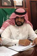 منسوبو متوسطة أبي دجانة يرحبون بالقائد التربوي / خالد بن علي الذبالي