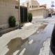 بالفيديو مصلحة المياه لأربعة أيام تهمل تسرب مياه ب #الخرج